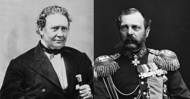 Chief Justice Edward Ryan and Czar Alexander II