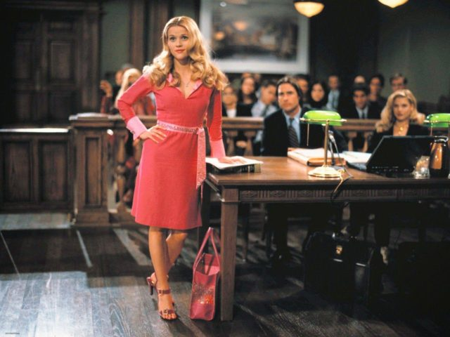 The young and lovely Elle Woods from Legal Blonde