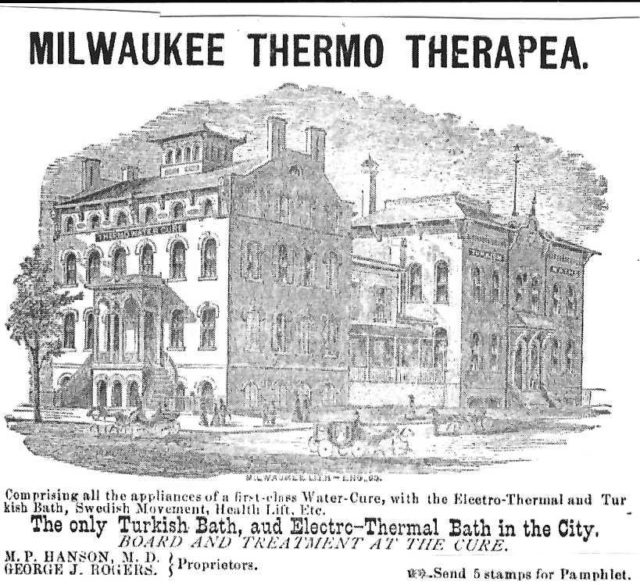 Picture of Milwaukee's turkish baths