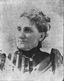 Nancia Monelle, Lavinia Goodell's roommate and a student at the Women's Medical College run by Elizabeth and Emily Blackwell